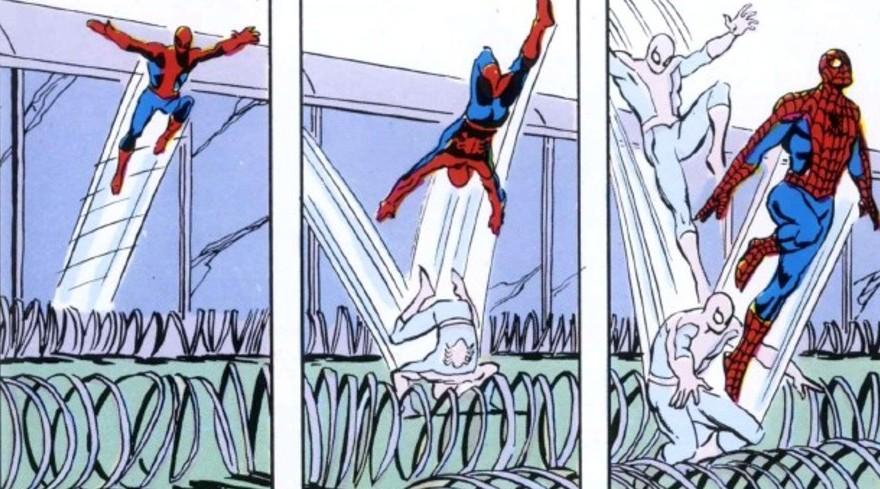 Spidey saute le mur !