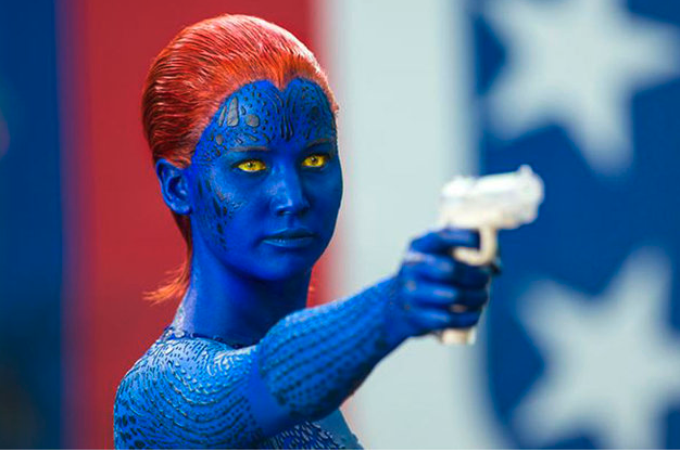Jennifer Lawrence dans le dernier volet des aventures des X-Men, X Men: Days of Future Past. © 20th Century Fox
