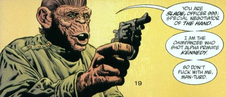 On a retrouvé l'assassin de Kenredy ( et il fait le singe !)