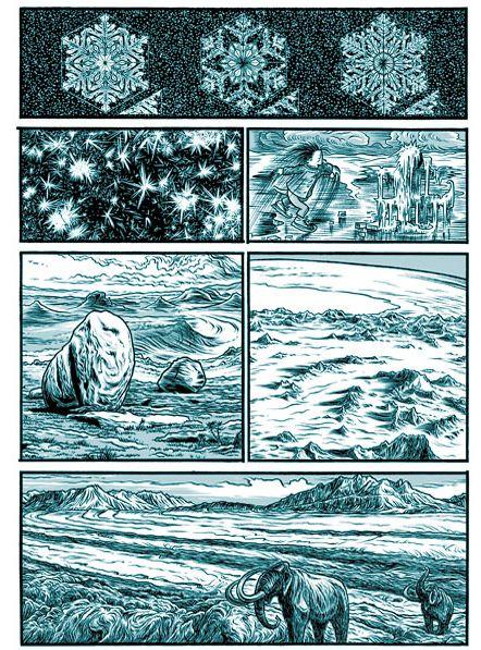 Le concept de l'ère glaciaire...