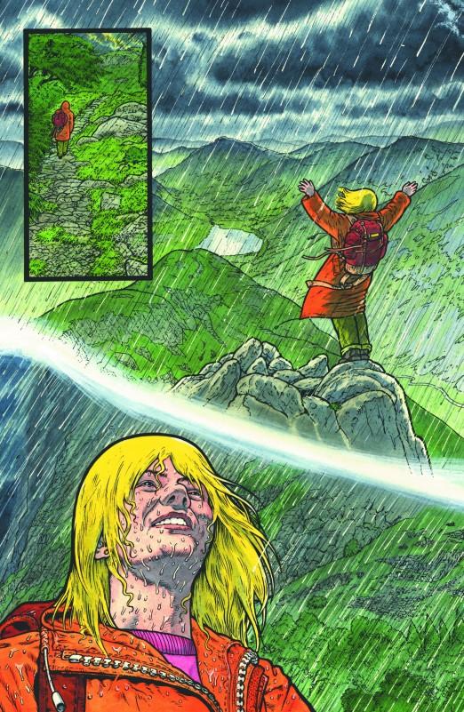 La pluie pour laver les saletés de l'âme.