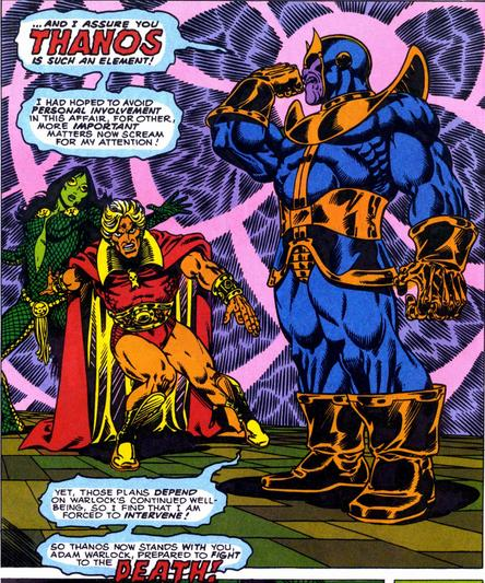 Thanos, bientôt au cinéma...