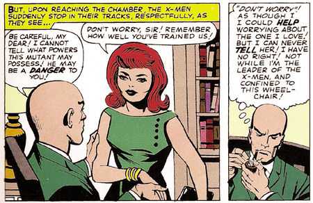 Nicieza remet se rappelle que Xavier éprouvait du désir pour Jean Grey dès le premier épisode des Xmen !