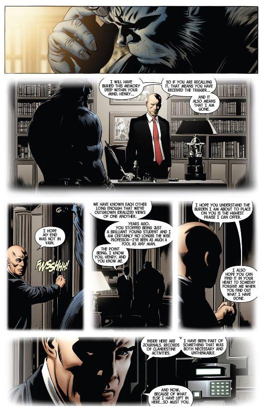 Le remplaçant de Charles Xavier
