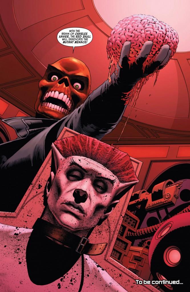 Red Skull peut pas s'empêcher de crâner...
