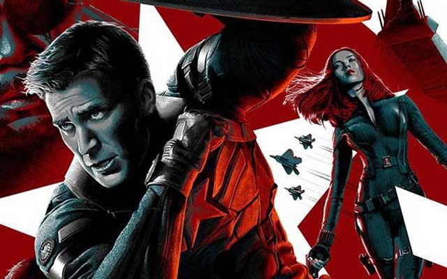 Une affiche promotionnelle et un parti-pris conceptuel qui montrent que le film est issu du monde des comics.