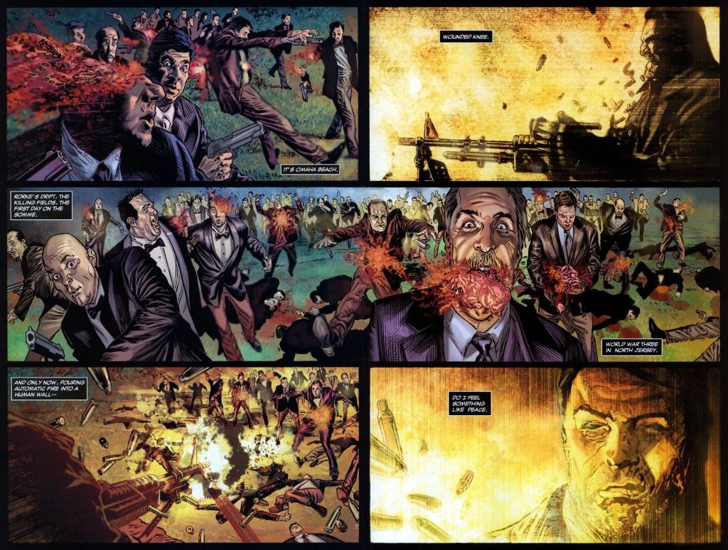 Pour le Punisher, la mafia c'est pas bien...