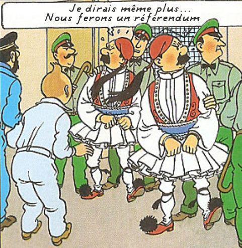 """Un autre exemple du rôle de """"bouc-émissaire"""" attribué aux Dupondt"""