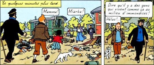 """Que reste-t-il du soit-disant """"racisme"""" de Hergé à ce stade de sa carrière ?"""