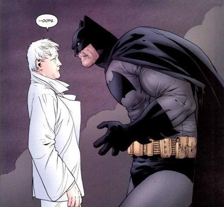 lijah Snow meets, le Dark Knight de Frank Miller !
