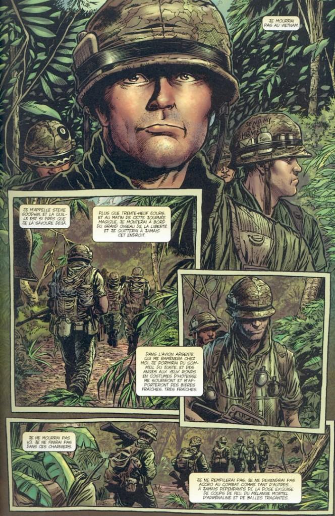 La guerre : Un des thèmes favoris de Garth Ennis