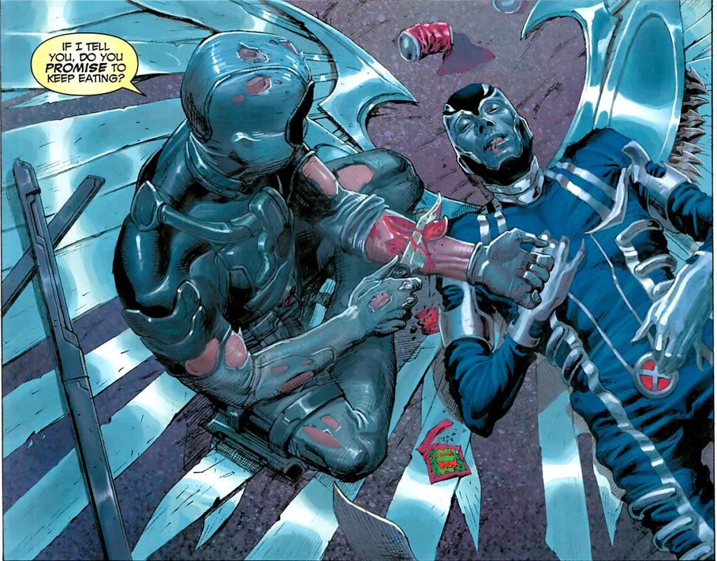 Allo le Comic Code ? J'appelle pour des actes de cannibalisme chez Marvel !
