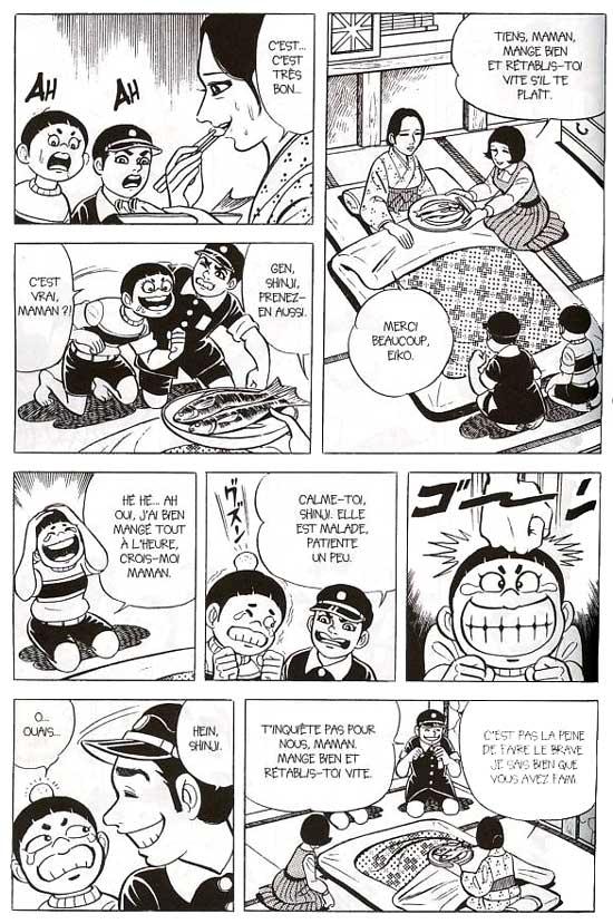 De l'humour à la japonaise pour alléger le récit...