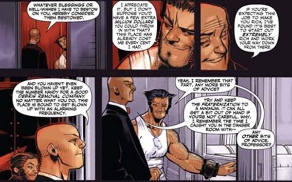 Inauguration par Charles Xavier !