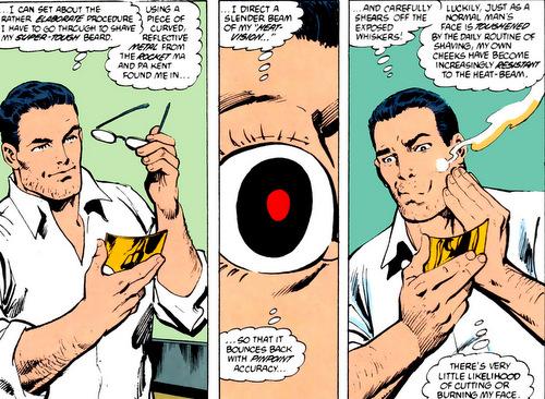 Comment fait Clark pour se raser