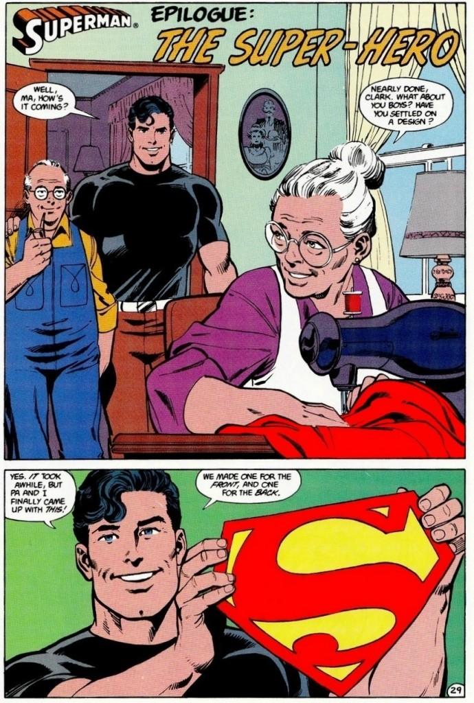 Une explication bon enfant du S de Superman