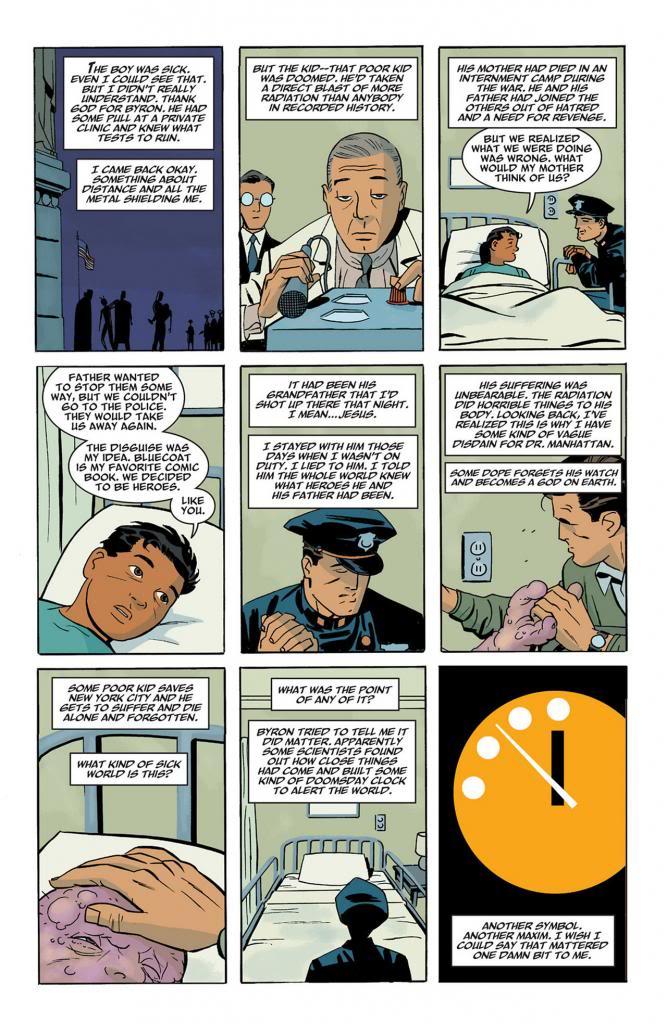 Vu l'hommage à Watchmen !