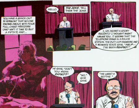 Et Gaiman inventa la convention des tueurs en série !