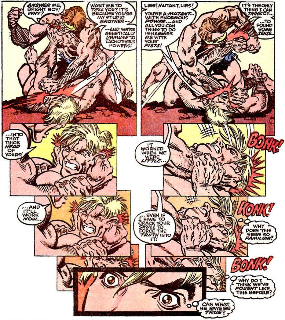 Havok et Cyclops à poil !