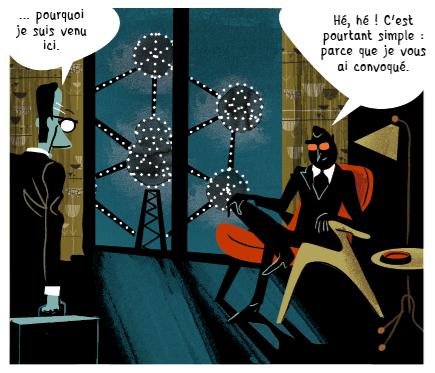 L'Atomium plutôt que la Tour Eiffel ou le Chrysler Building
