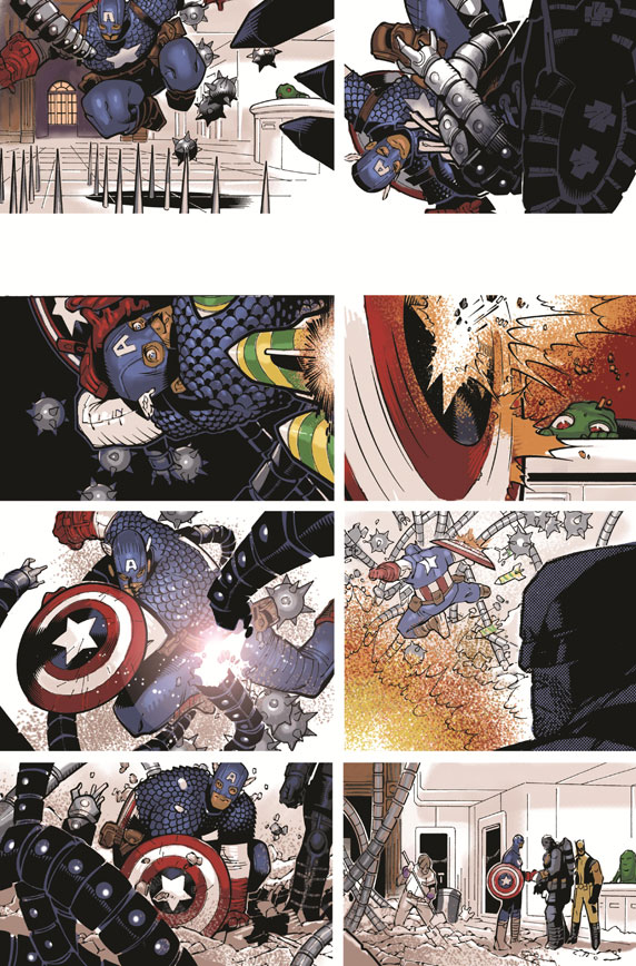 Captain America bien accueilli