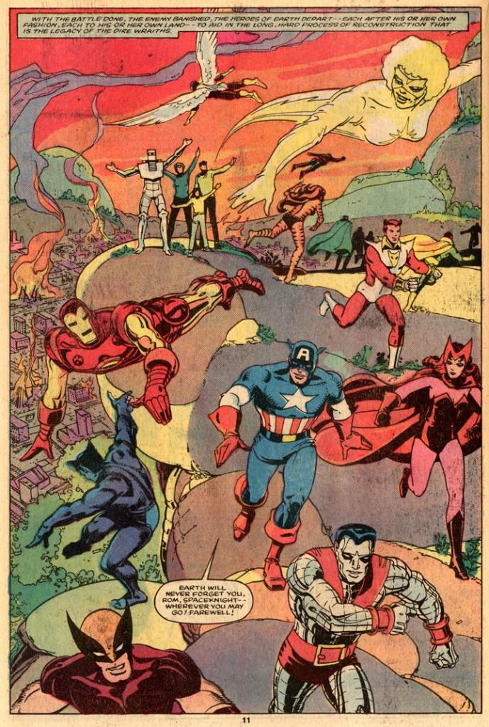 Rom, les héros Marvel par Steve Ditko !