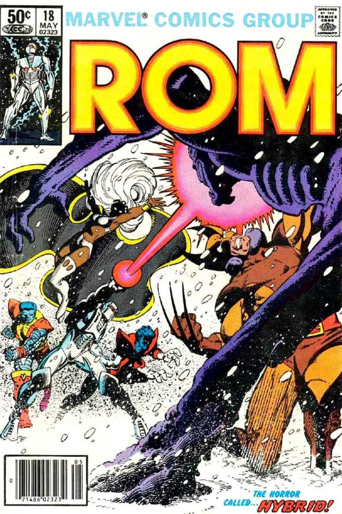 Rom Vs les Xmen par Frank Miller !