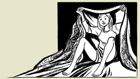 Sous la couette avec Raina : une sensualité qui transcende le papier !