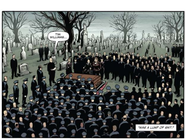 Dans la lutte contre le crime, les morts sont des civils des criminels, mais aussi des policiers.
