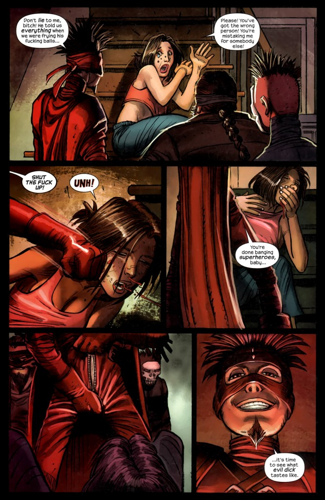 Millar aime violer ses personnages féminins...