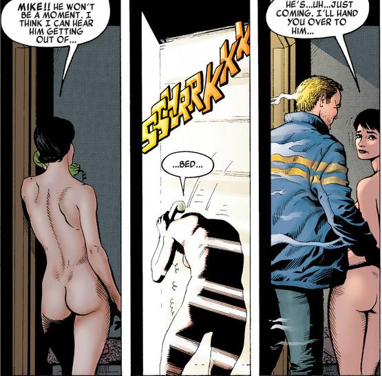 Non, non, ce n'est plus du comics de super-héros pour les petits...