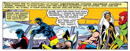 Chochotte ! Wolverine avec un oreiller.