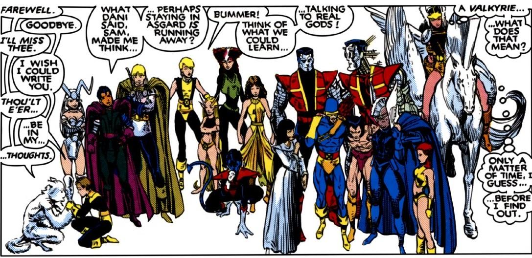 Un énorme regroupement de mutants pour l'époque
