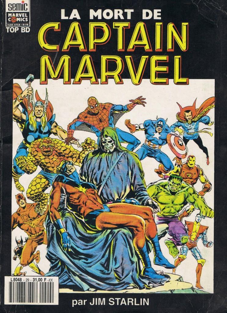 Début des années 80 et première grande histoire adulte : Un super-héros meurt du cancer