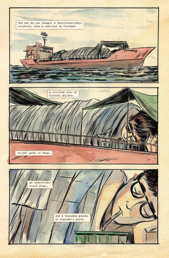 Comment traverser l'océan?
