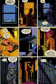 De la rigueur dans le découpage : 9 vignettes par planches !