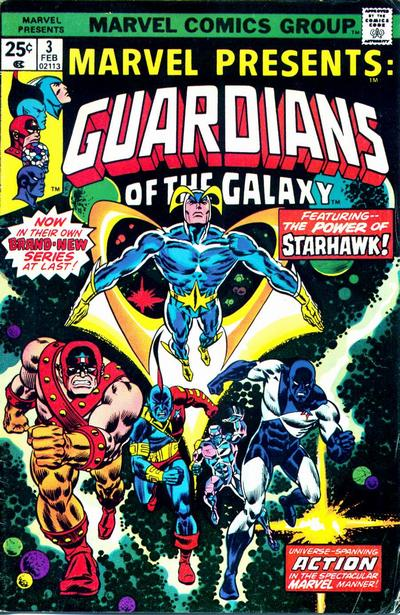 Gardiens de la Galaxie – version classique!