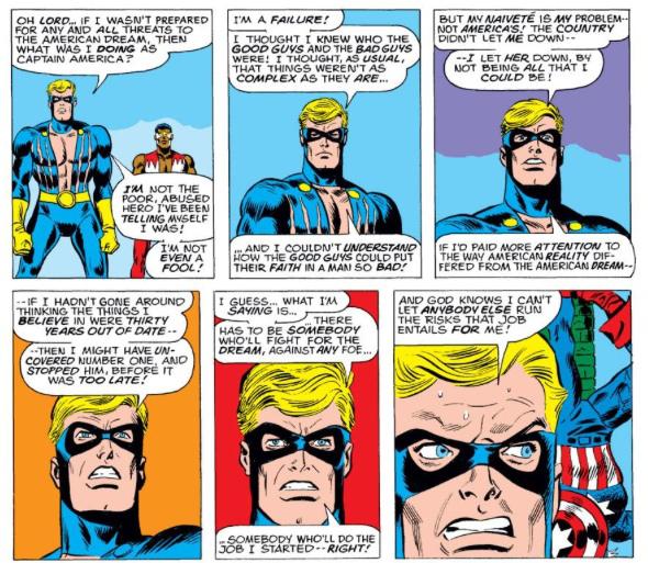 Captain America commence à se poser des questions !