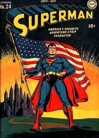 Le super-héros fier et américain de l'âge d'or des comics !