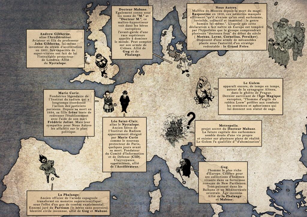 Personnages historiques et figures de fiction coexistent harmonieusement!