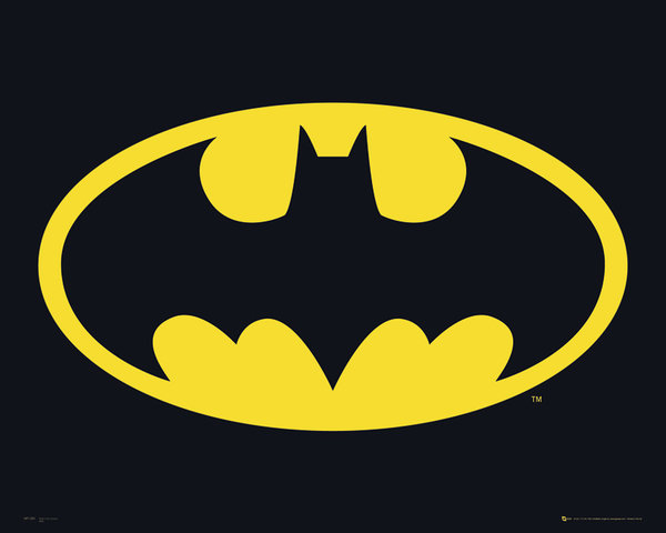 Le symbole iconique de Batman