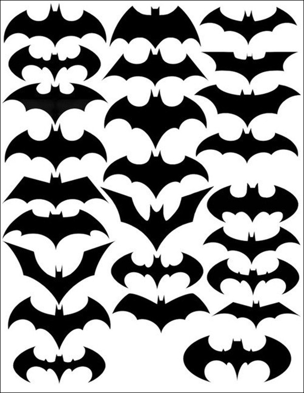 Le symbole sur la poitrine de Batman