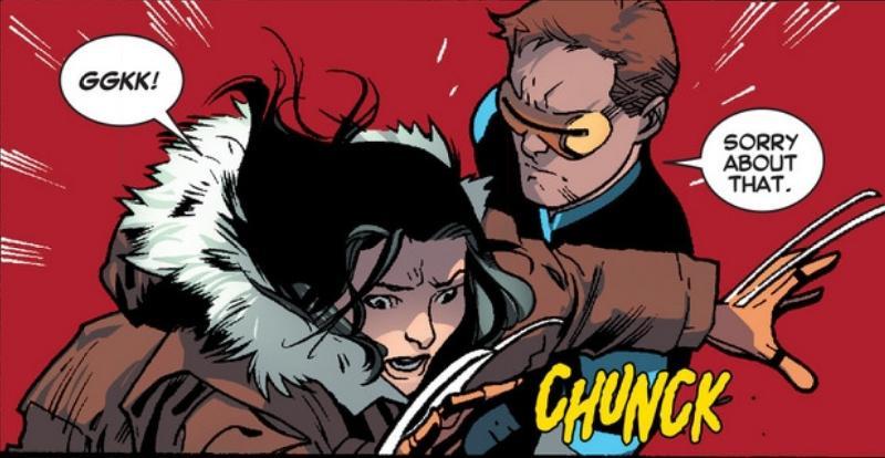 X-23 a le nez bouché...