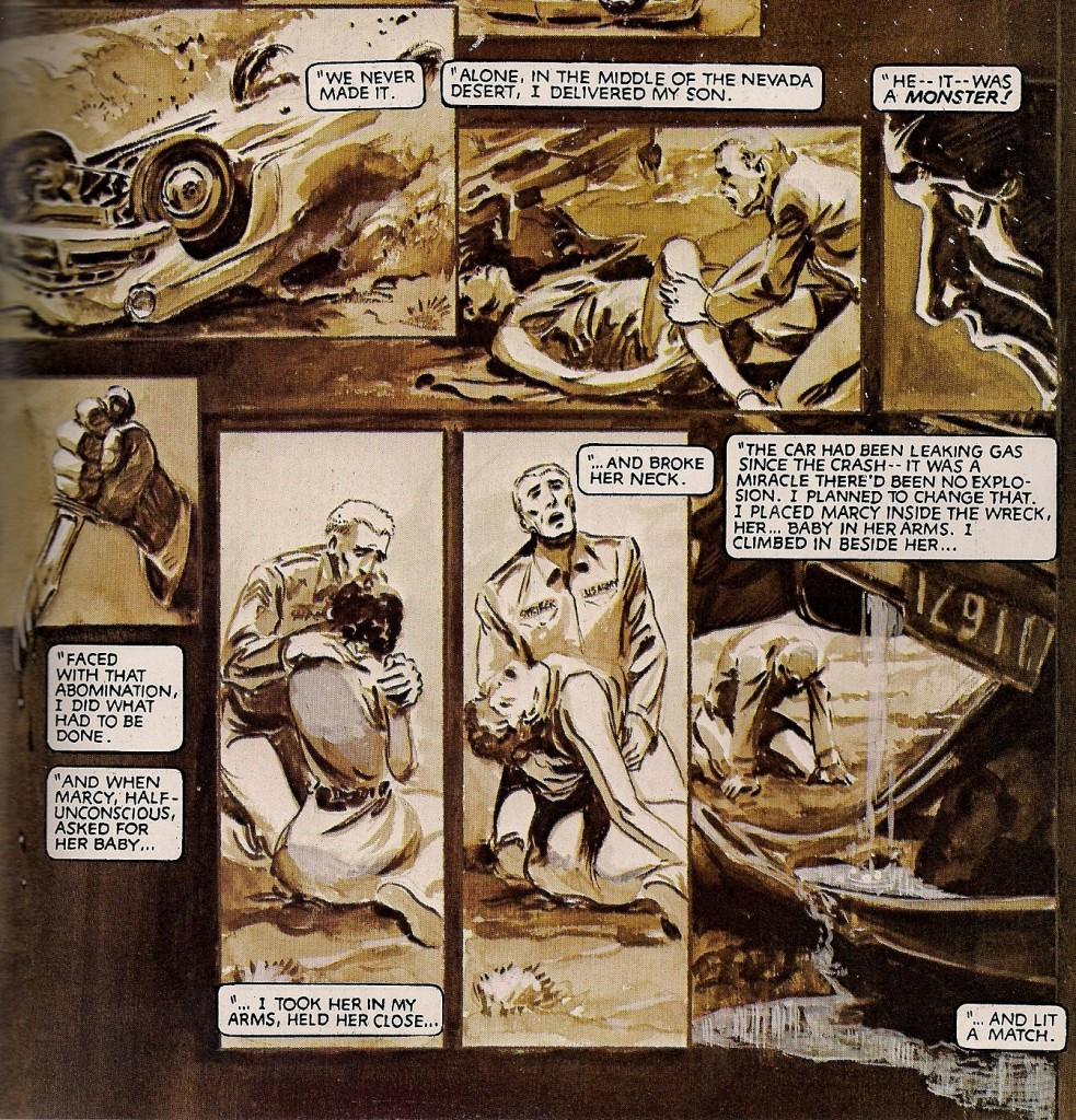 Stryker tue son enfant et brûle sa femme ! Voilà la vraie histoire Mr Bendis !