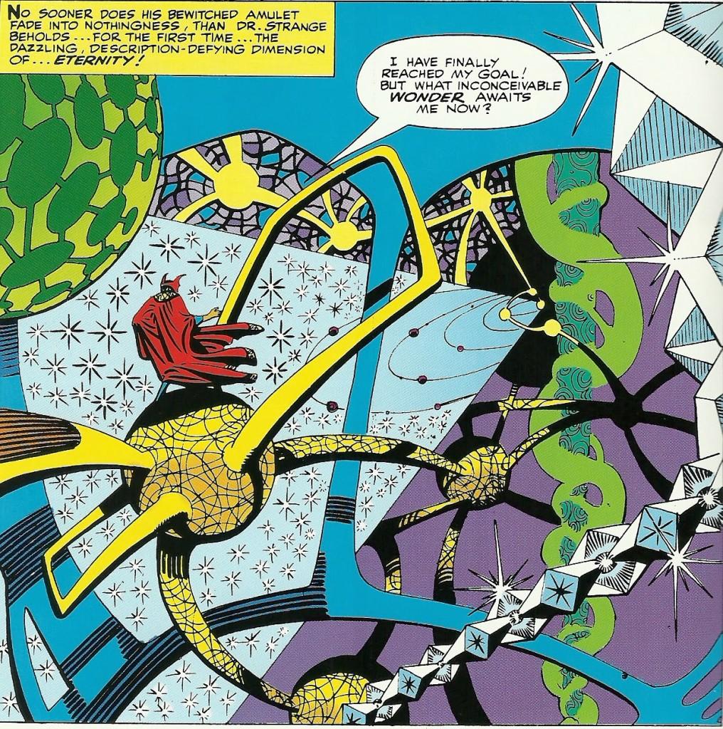 Les paysages mystiques surréalistes de Docteur Strange
