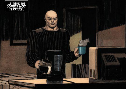 Magnus a kidnappé le lettreur du Punisher !