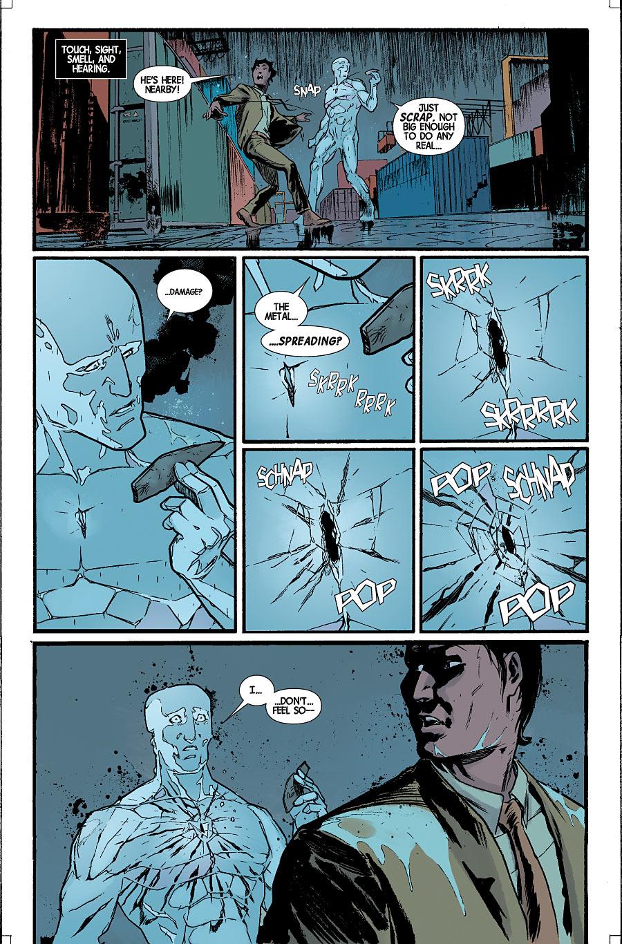Avec Magneto sur le dos, les Maraudeurs apprenent la peur !