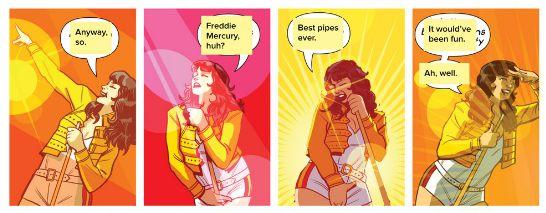 Fat bottomed girls : sans les paroles, mais avec le blouson de Freddie Mercury