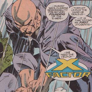 Charles Xavier souffre de coliques ?