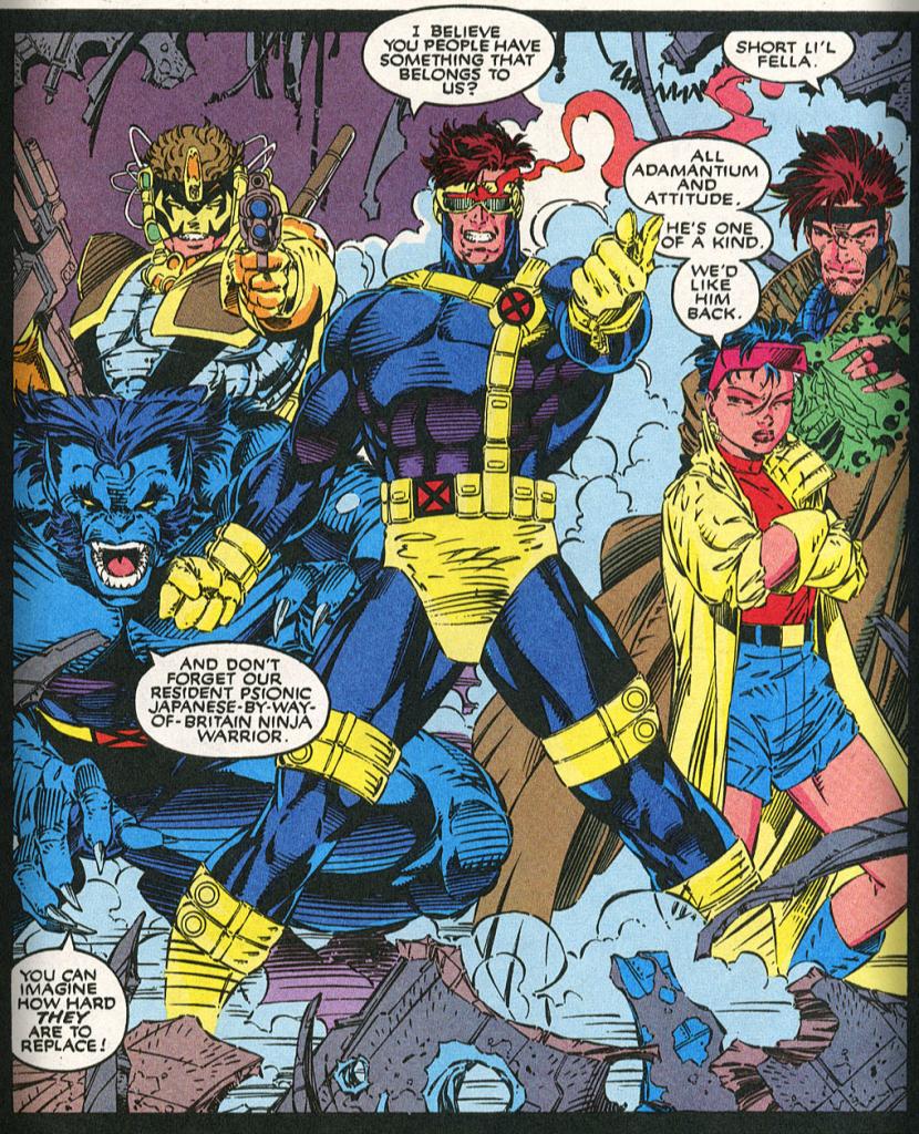 Chez Jim Lee, les X-Men passent leur temps à poser...